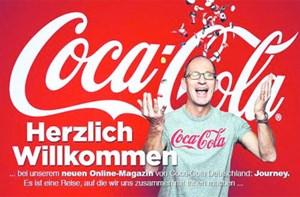"""Seit kurzem erscheint """"Journey"""" von Coca-Cola auf Deutsch: coca-colacompany.com."""
