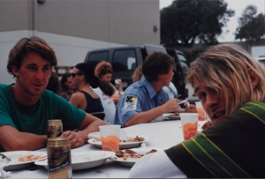 "Kurt Cobain beim ""Smells Like Teen Spirit"" Video-Dreh in Los Angeles am 18. August 1991."