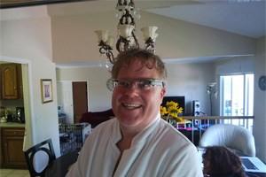 """Robert Scoble mit Google Glass - einen Tag nach seinem bekannten """"Duschfoto"""""""