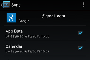 Neu mit der Version 3.1.36 des Google Play Services Frameworks: App-Data-Sync.