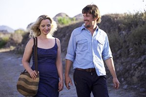 "Ein merkbar gereiftes Paar unterwegs zu einer hitzig verlaufenden Aussprache: Julie Delpy und Ethan Hawke verkörpern in Richard Linklaters ""Before Midnight"" erneut Celine und Jesse."