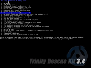 Greift Windows unter die Arme: Trinity Rescue Kit