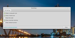 """Der Klick auf die """"Advanced Settings"""" bringt meist keine neuen Optionen zum Vorschein."""