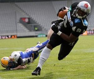 Klare Verhältnisse. Die Raiders werden im Halbfinale der AFL auf die Giants treffen. Die Tiroler setzten sich im Grunddurchgang zwei Mal klar gegen die Grazer durch.
