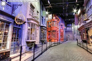 Virtueller Besuch in der Diagon Alley.