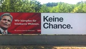 Die aktuelle Plakatkampagne von Hutchinson Drei Austria sorgte für Aufregung.