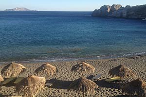 Das ist ein Stückchen Südküste von Kreta. Nur wenige Kilometer davor befinden sich gewaltige Erdgasvorkommen.