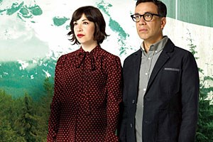Carrie Brownstein und Fred Armisen.
