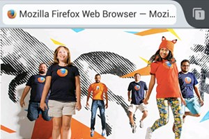 Firefox 24 unter Android.
