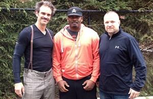 Die Stimmen von GTA 5 sind Steven Ogg (Trevor), Shawn Fonteno (Franklin) und Ned Luke (Michael)