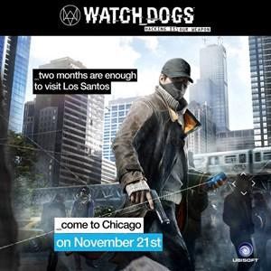 """Ubisoft richtet seine Werbung für den Hacker-Thriller """"Watch Dogs"""" auf den Hype um """"GTA 5"""" aus."""