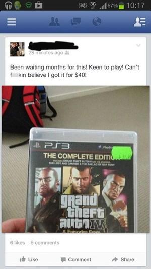 """Der unglücklichste aller """"GTA 5""""-Fans? Nur ein guter Scherz."""
