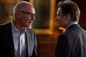 """Duell alter Haudegen, nur in Nebenrollen: Gary Oldman und Harrison Ford in """"Paranoia""""."""