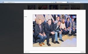 Screenshot: Das Foto auf der Homepage von Heinz-Christian Strache