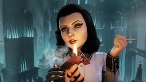 "Elizabeth in ""Burial at Sea"""