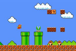 """Super Mario"" erobert den Browser."