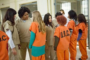 "Neue Netflix-Erfolgsserie: ""Orange is the new black""."