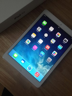 Das iPad Air.