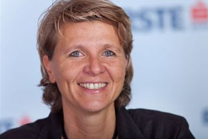 Birgit Payer leitet Recruiting und Placement der Erste Bank Sparkasse.