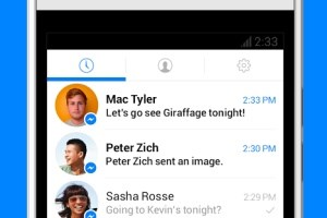 Facebook hat das Interface des Messengers neu gestaltet.