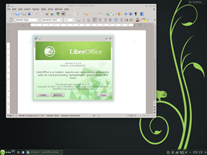...wie LibreOffice 4.1.2.3.