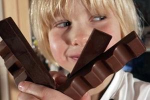 Wie Schokolade die Stimmung hebt, können Bioinformatiker neuerdings mit einem Computermodell simulieren.
