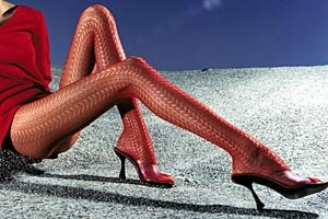 Wolford sieht rot.