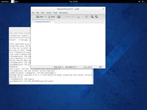 Mit Fedora 20 lässt sich erstmals der X.org-Nachfolger Wayland ausprobieren, im Optimalfall ist hier optisch kein Unterschied festzustellen. Der Support ist derzeit aber noch als experimentell anzusehen.