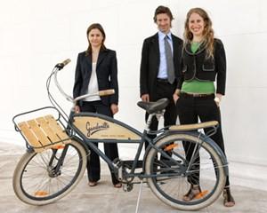 Das Goodville-Team: Beate Hauser (rechts), Florian Pollack und Katja Hebenstreit (ehemaliges Gründungsmitglied).