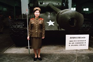 "Im ""Victorious Fatherland Liberation War Museum"" in Pyongyang fotografierte Luca Faccio 2006."