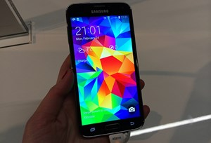 Samsung hat am Mobile World Congress ein neues Flaggschiff Galaxy S5 präsentiert.