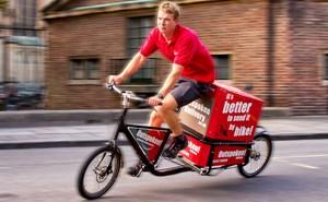 Einige Logistik-Unternehmen haben längst begonnen, mit Lastenrädern zu experimentieren. Andere könnte nachziehen.