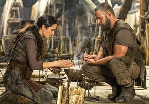 "Jennifer Connelly und Russell Crowe in ""Noah""."