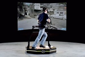 Virtuix Omni in Aktion