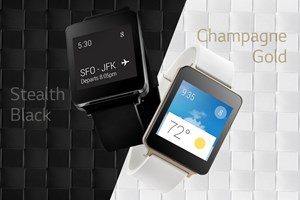 Die LG G Watch mit Android Wear.