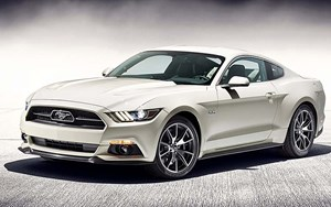 Kommt gut: Die 50 Year Limited Edition des Ford Mustang.