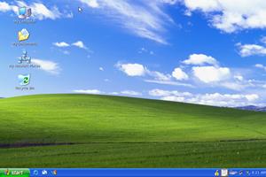 Das Aussehen des Desktops lässt sich optional im Windows-XP-Look tarnen.