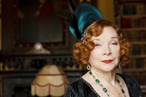 "Shirley MacLaine in ""Downton Abbey""."