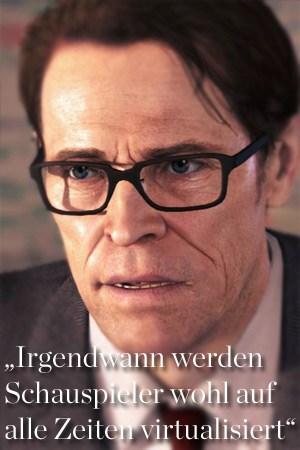 "Willem Dafoe in ""Beyond: Two Souls"""