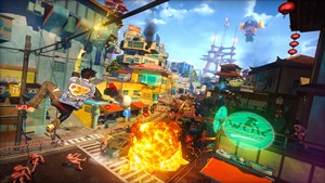 """Sunset Overdrive"""