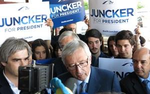 Jean-Claude Juncker im Wahlkampf.