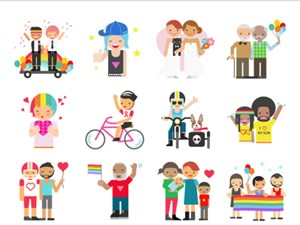 Neues Facebook-Stickerset zelebriert den Pride Month.