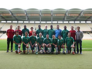 Das SK Rapid Special Needs Team