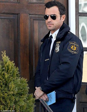 """Hard Cop"": Justin Theroux als Kevin Garvey in ""The Leftovers""."