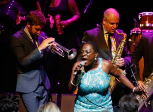 Sharon Jones mit der Daptone