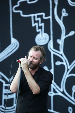 Voll Moll: Matt Berninger von The National.
