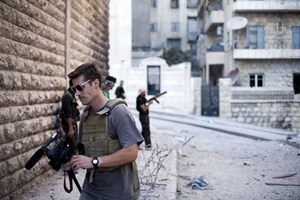 Archivbild, das den US-Journalisten James Foley zeigt.