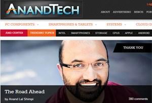 Anand Lal Shimpi geht zu Apple. - anandtech