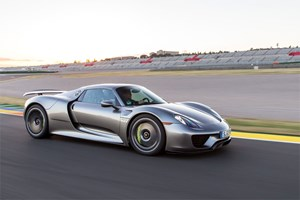 ...darunter der Supersportler 918 Spyder...