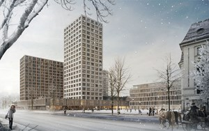 Projekt in Wien: das Intercont-Eislaufverein-Areal.